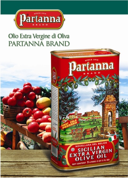 Partanna Extra Virgin Sicilian Olive Oil